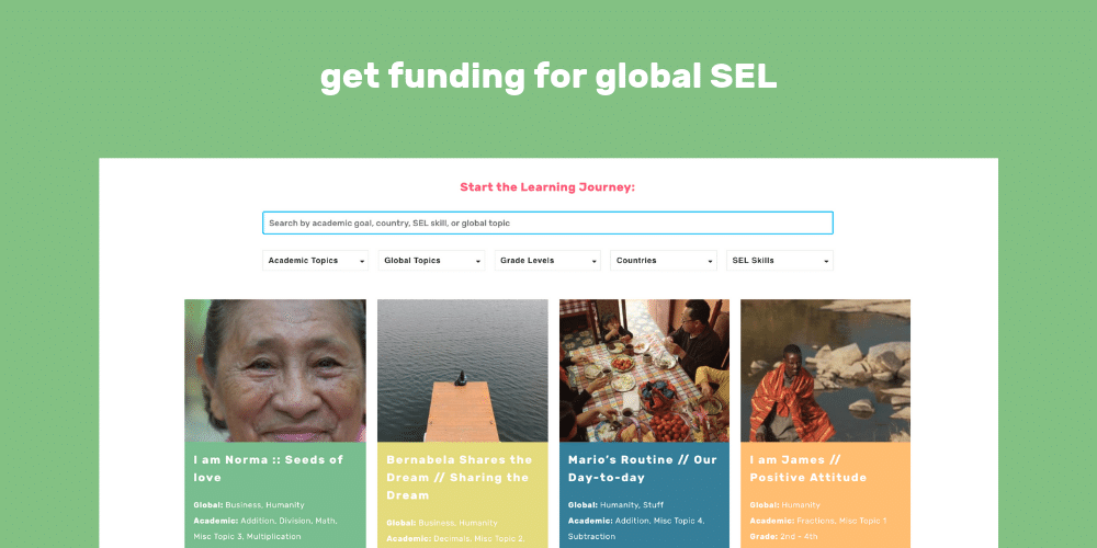 How to Get Funding for Global SEL