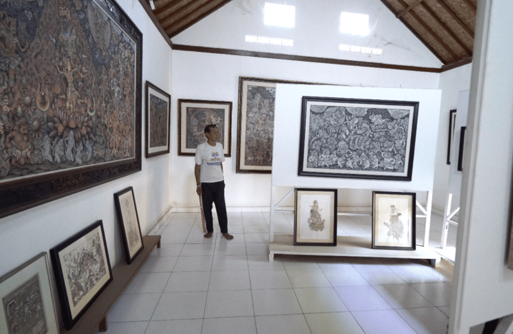 Ketut Madra Expresses Himself Through His Paintings :: Emotional Changes