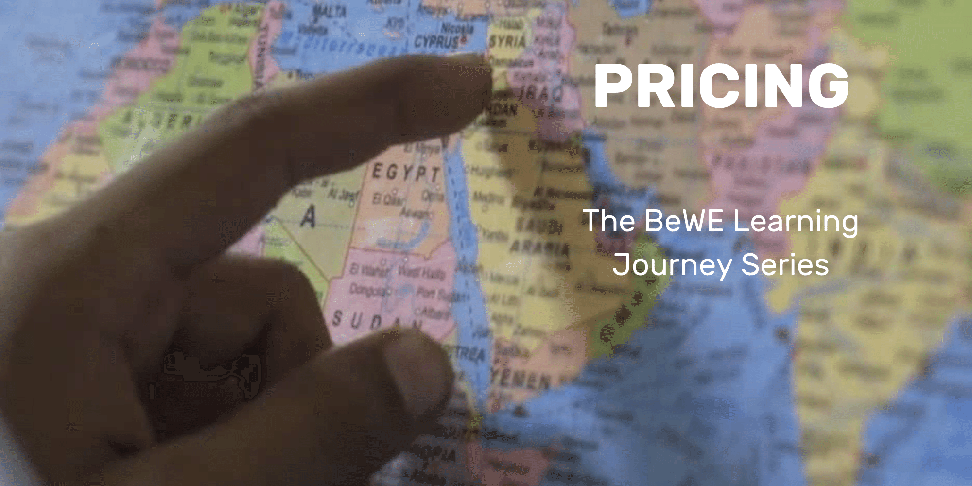 The BeWE Learning Journey: Pricing