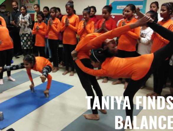 Taniya Finds Balance :: Finding Balance